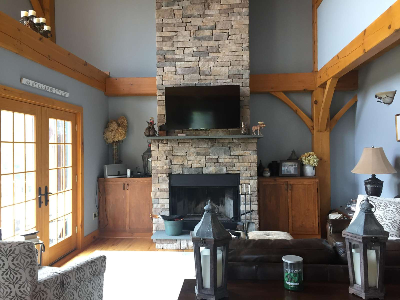 Vaulted ceilings and timber framing