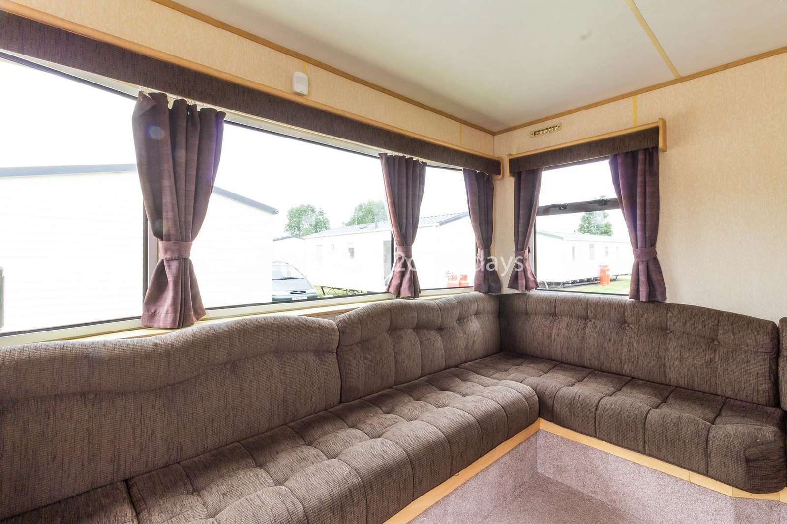 Double sofa bed in the lounge!
