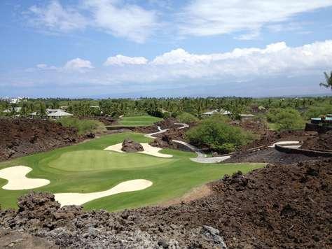 Famed #17 on Mauna Lani North Course!