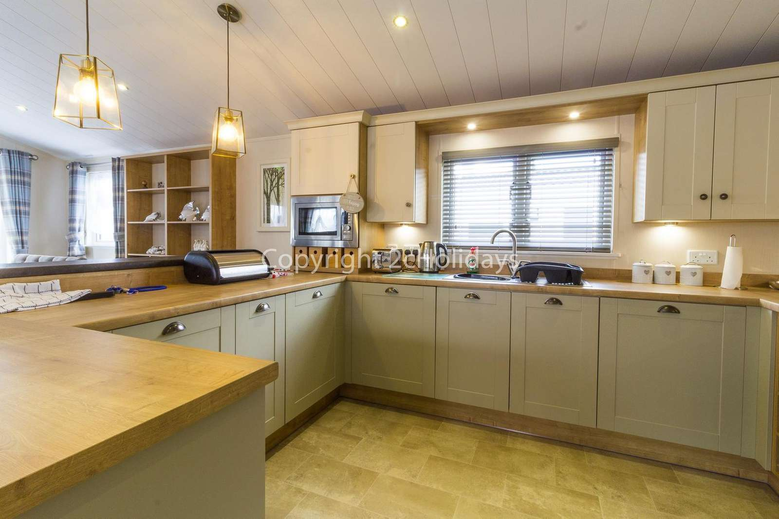 Deluxe kitchen with a dishwasher!