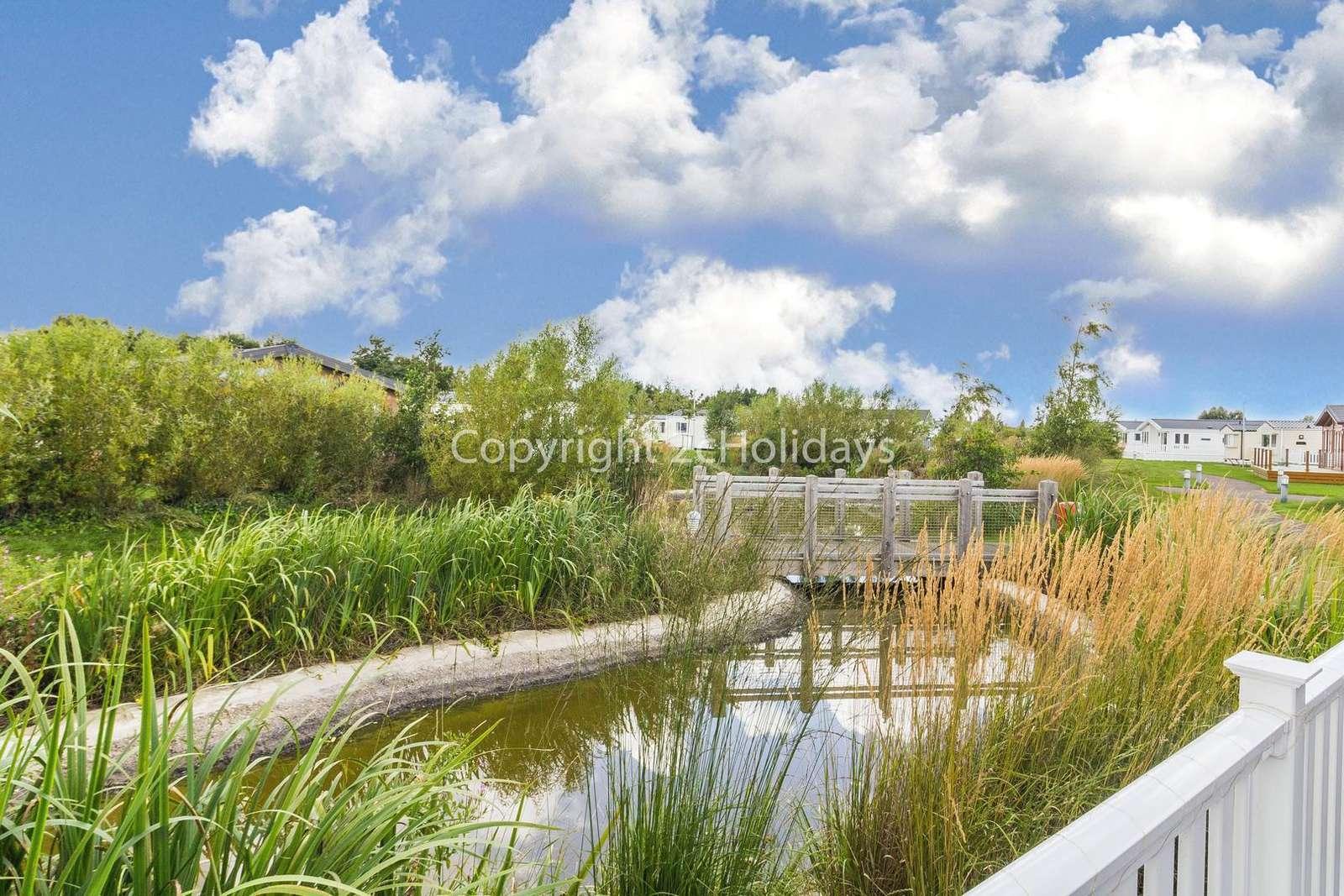 Beautiful pond views!