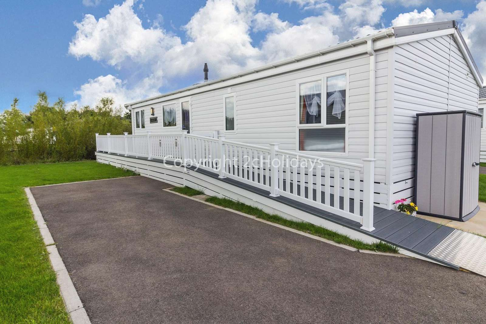 Parking available next to the accommodation on hard standing ground!