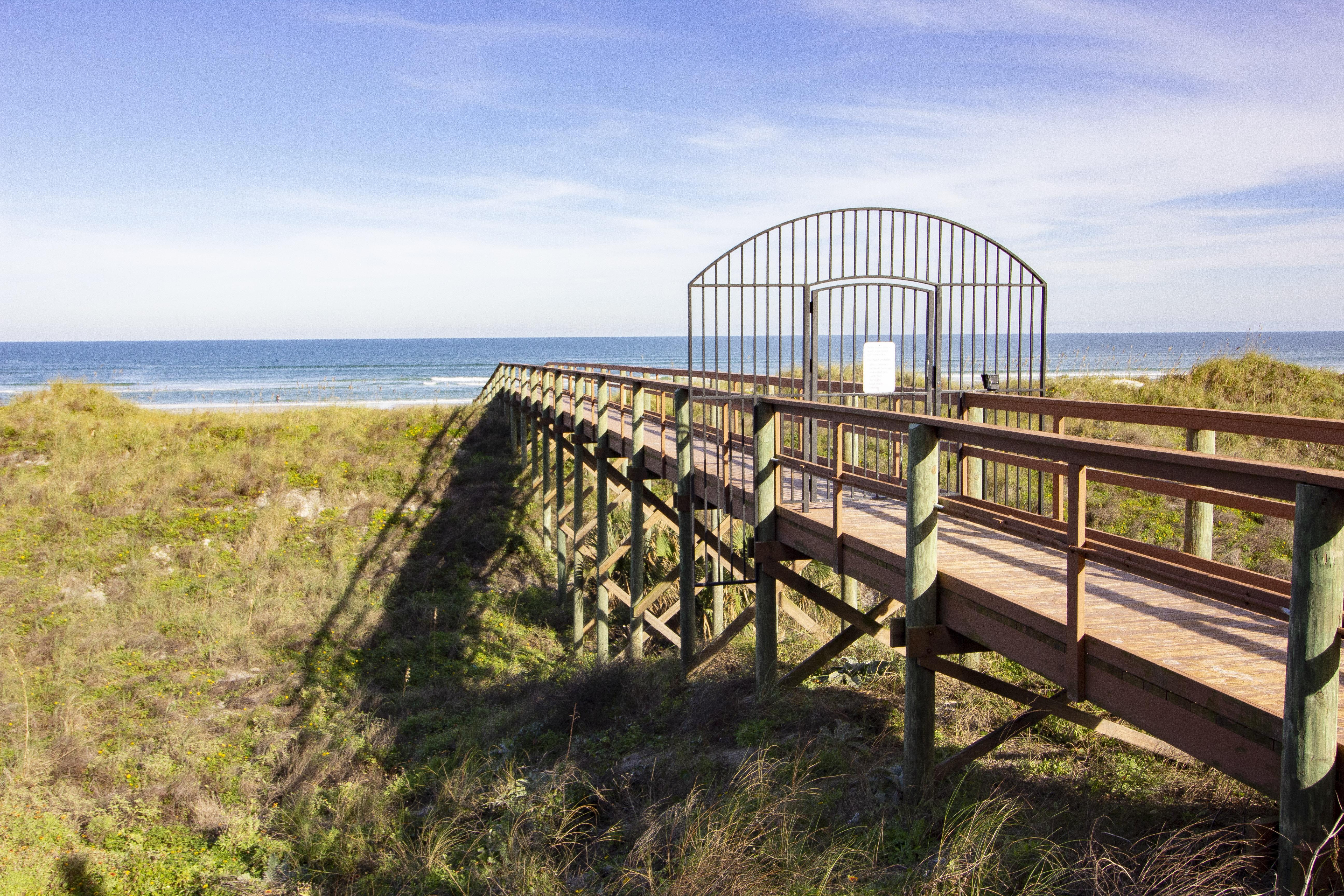 Beach Walk-over