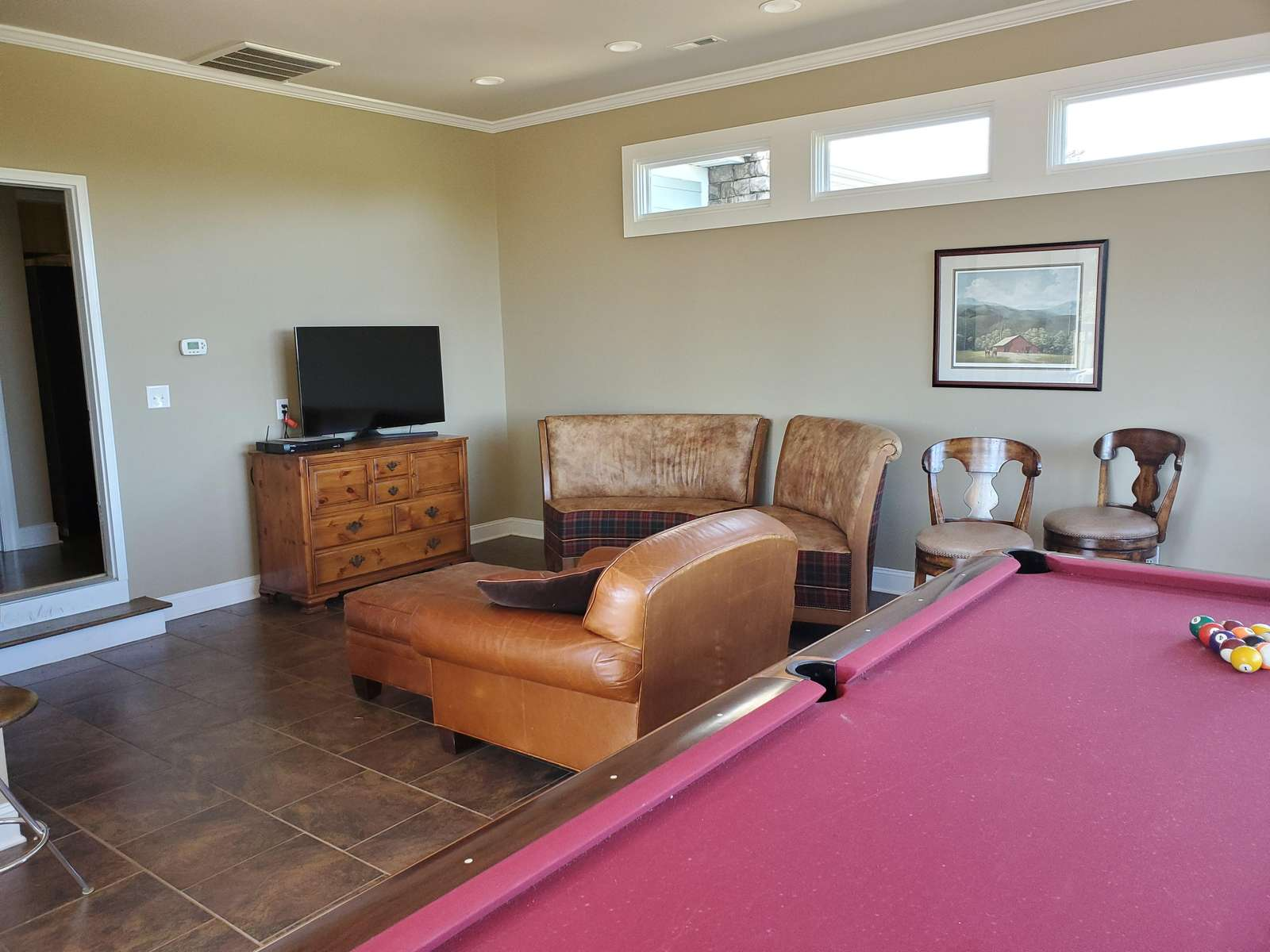 Lounging Area in Pool Room