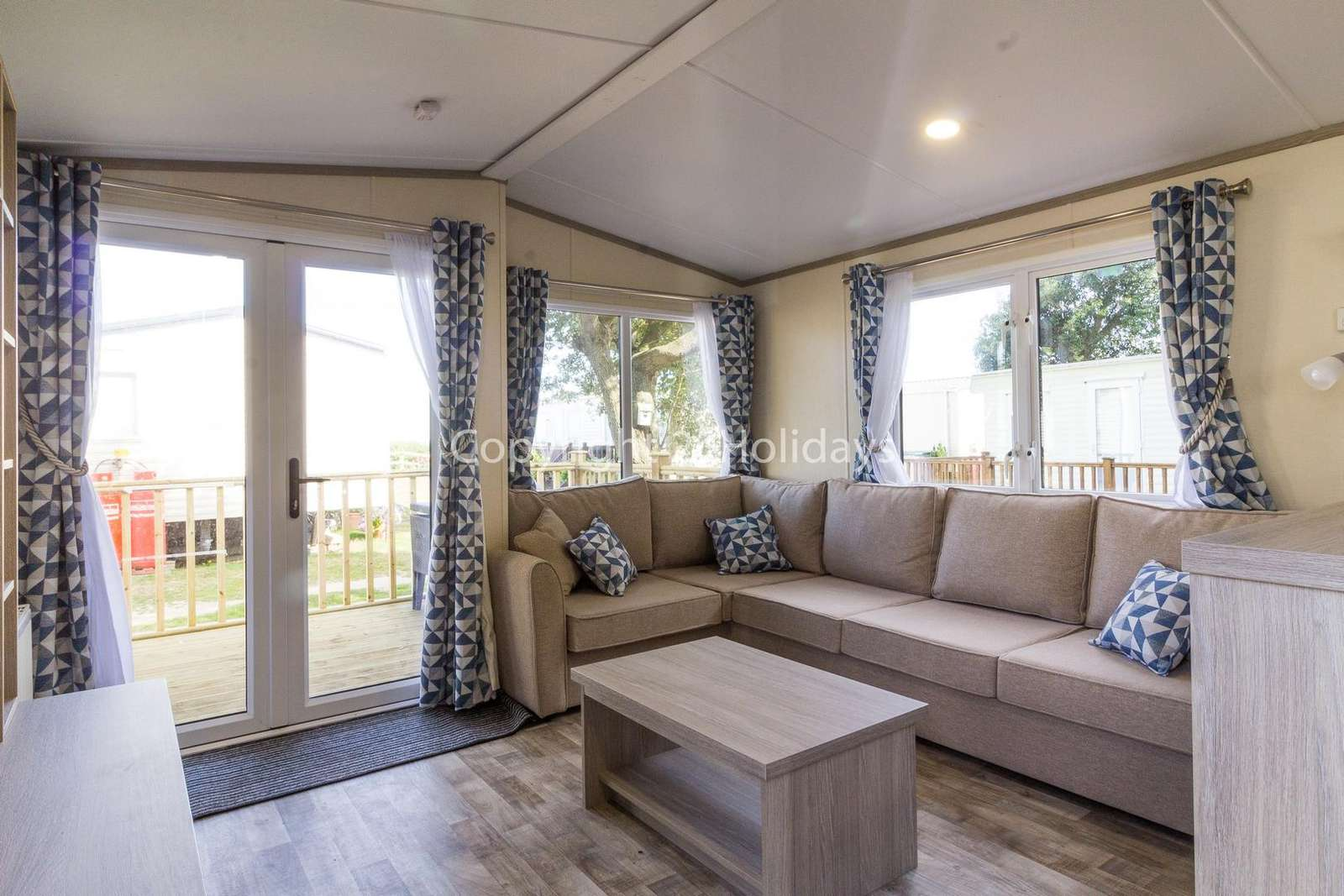 Spacious and modern living area, perfect for families!