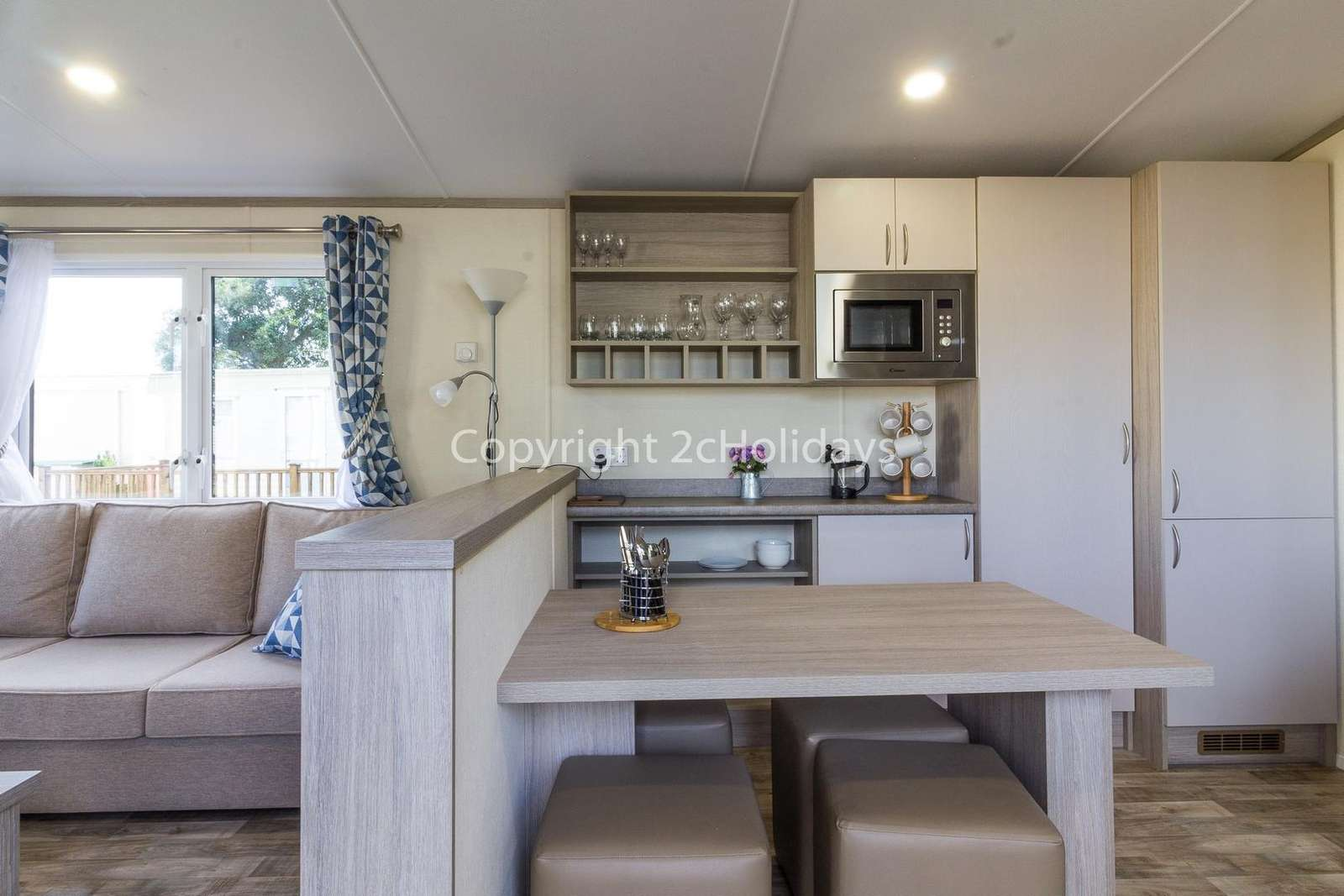 The perfect place to dine with your family or friends in this self-catering accommodation