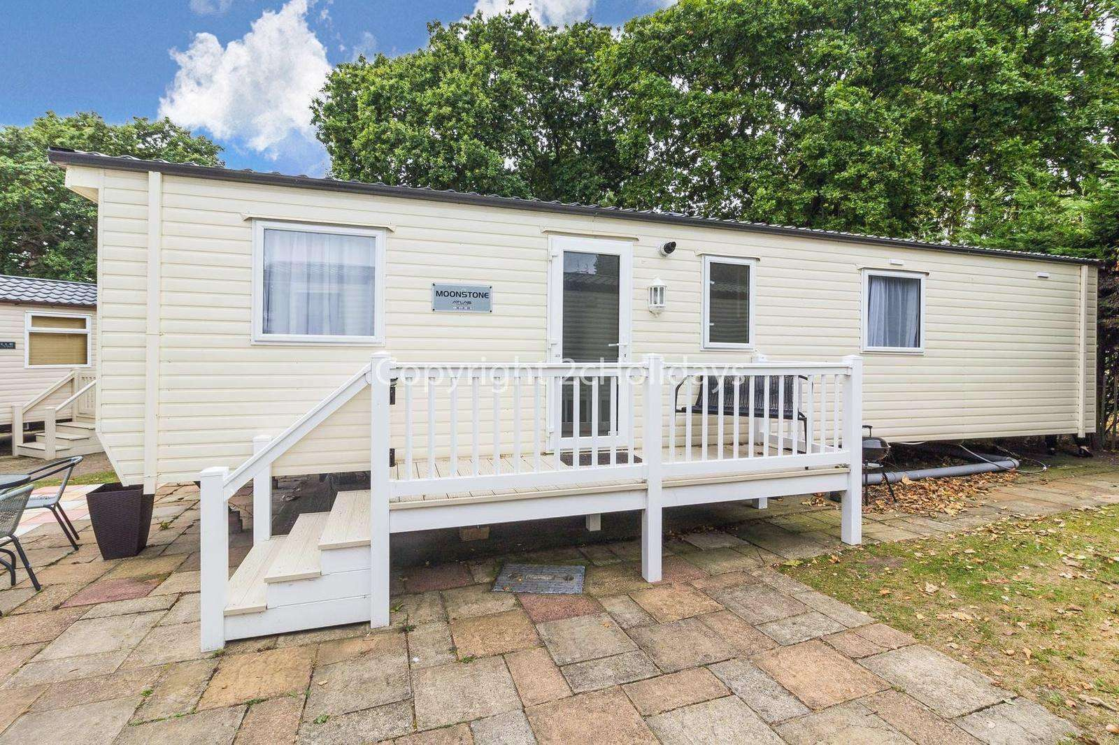 A great caravan on a fab holiday park suitable for children of all ages