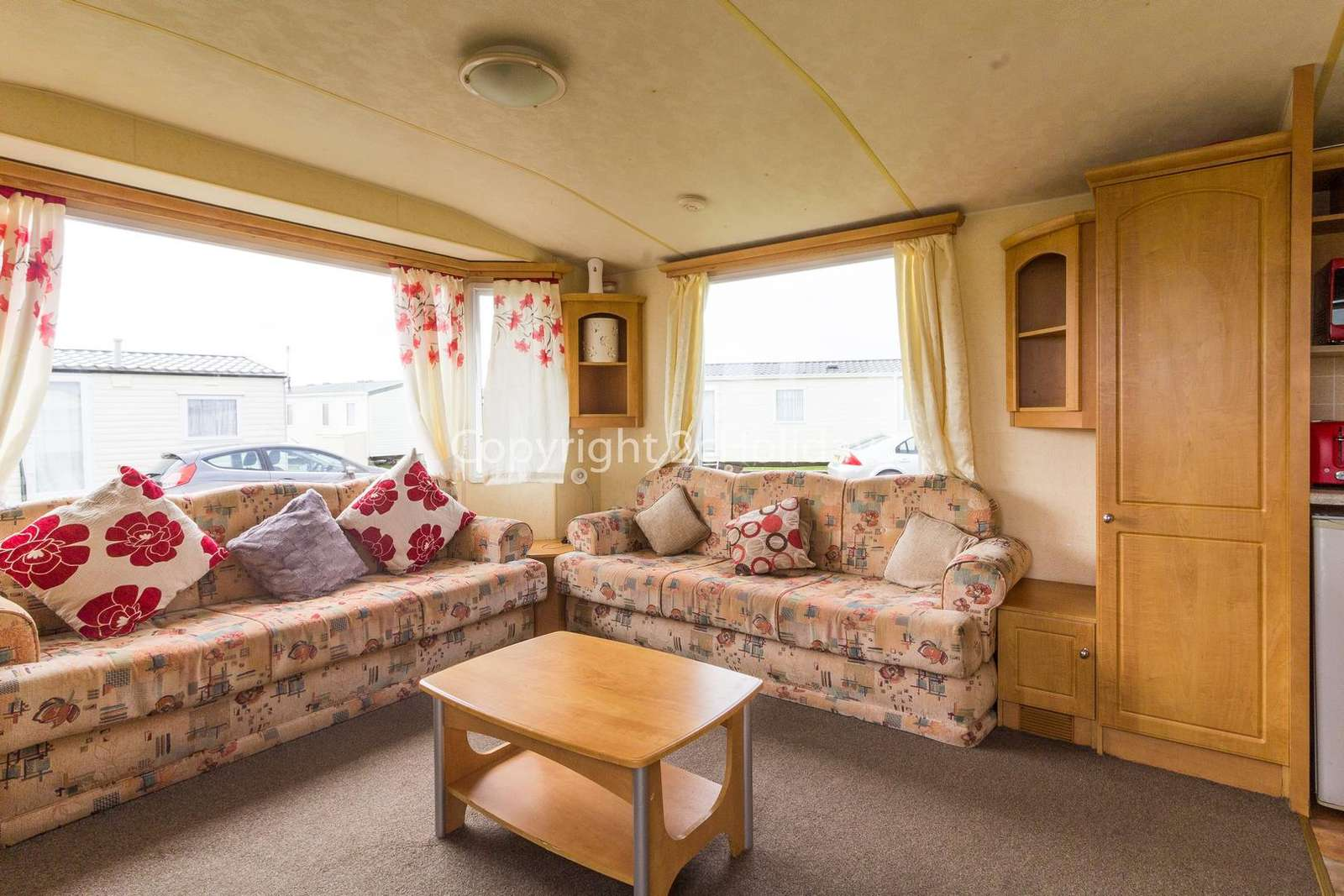 Come and stay in this private accommodation Martello Beach Holiday Park
