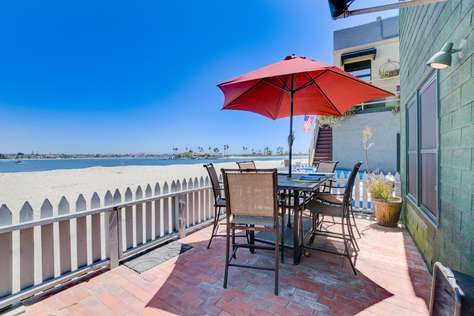 REDUCED! CLEAN/SAFE, Mission Bay/Beach Front, 3 Patios, Minutes to Pacific Ocean