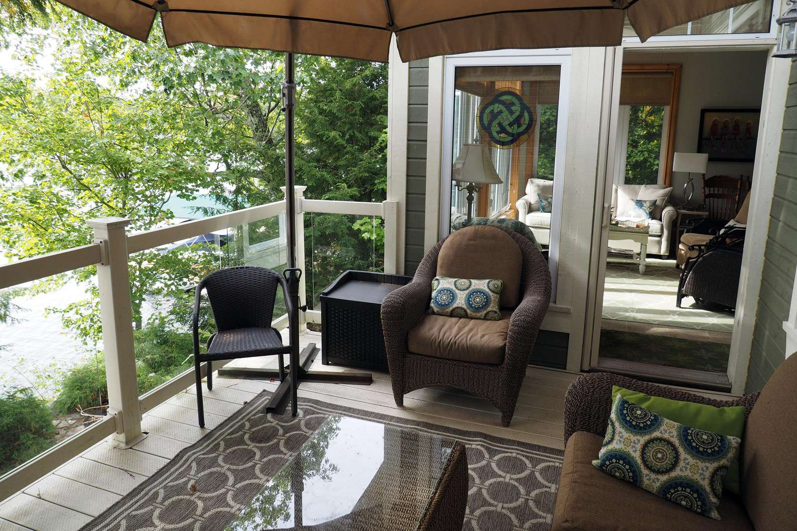 Small Deck off Seating Area
