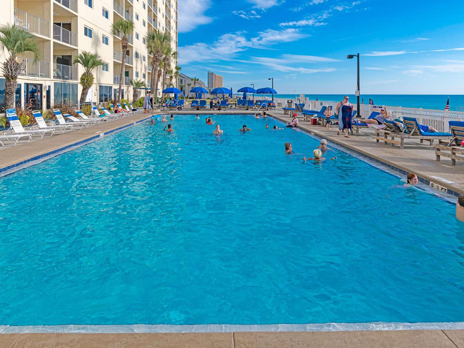 Regency has great swimming amenities!