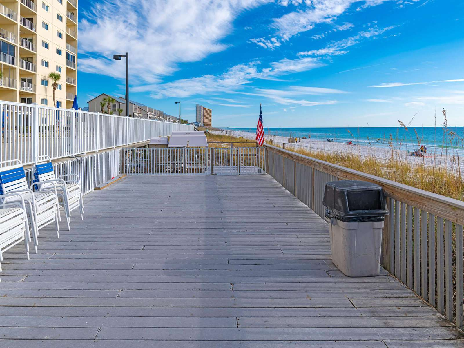 Take a stroll down the boardwalk!