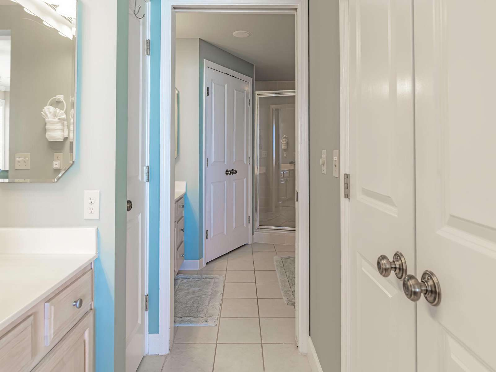 This master bath will take your breath away!