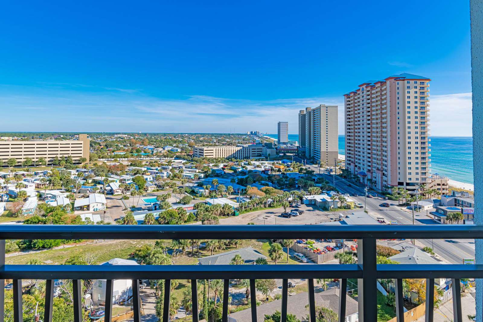 Endless views from your private balcony!