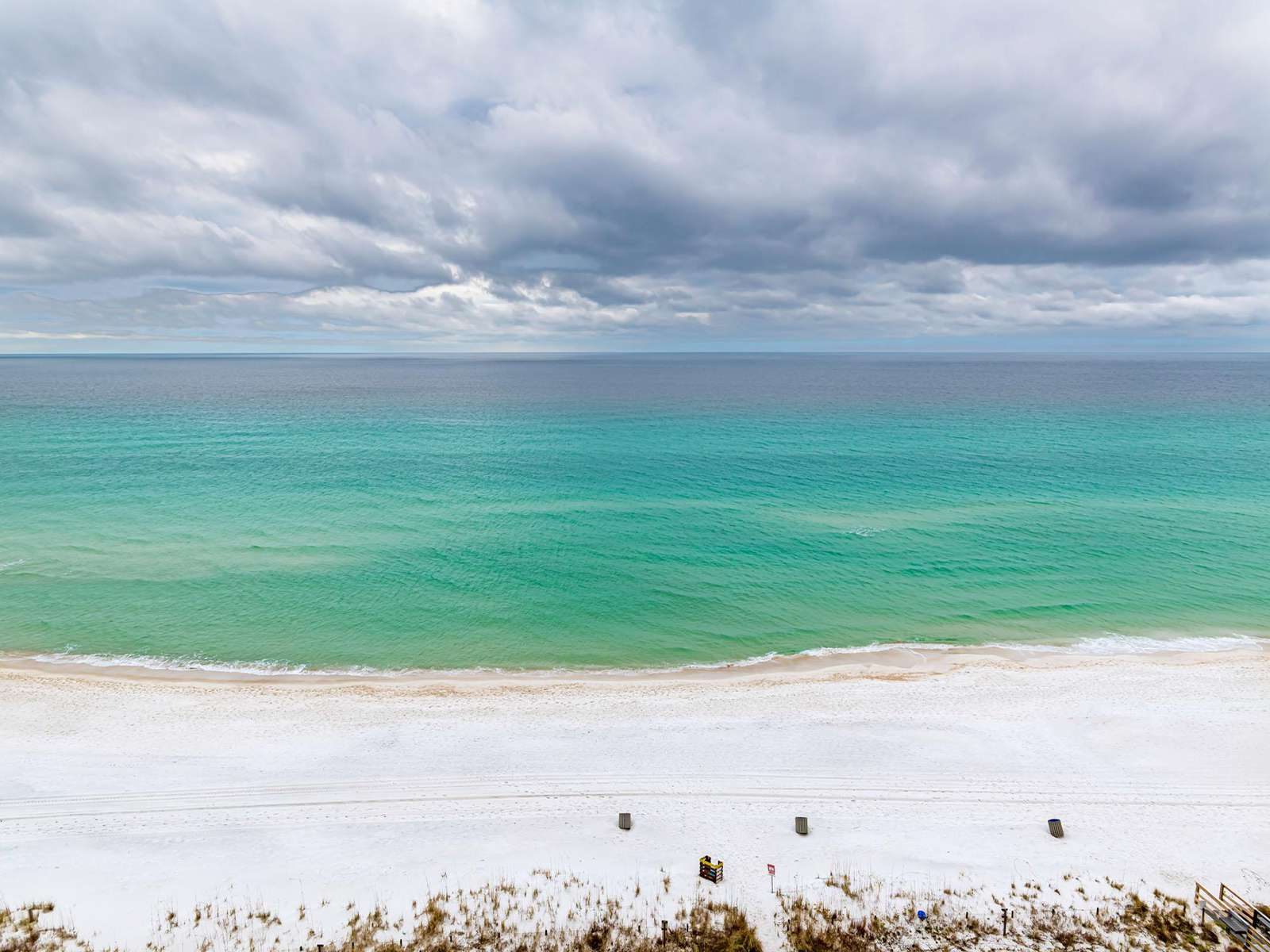 Sugar white sands and emerald waters! PCB!
