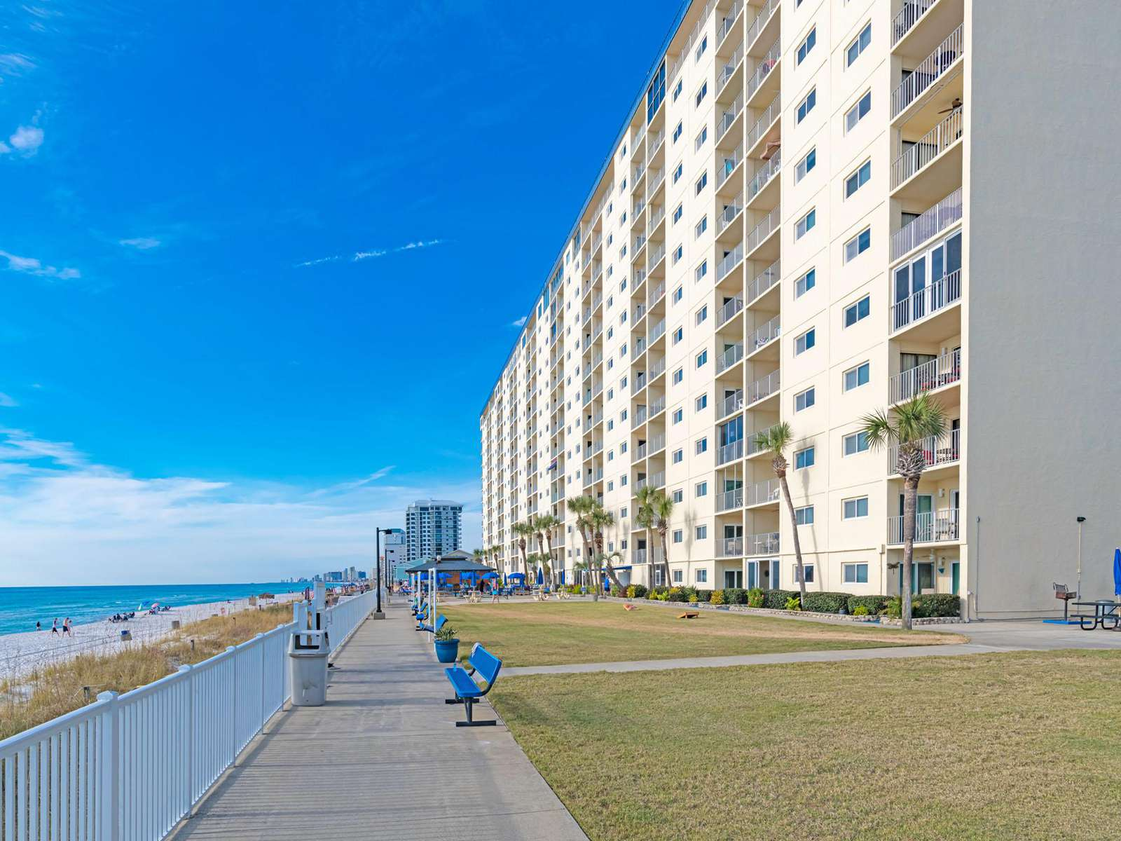 East to West views of the gorgeous PCB beaches!
