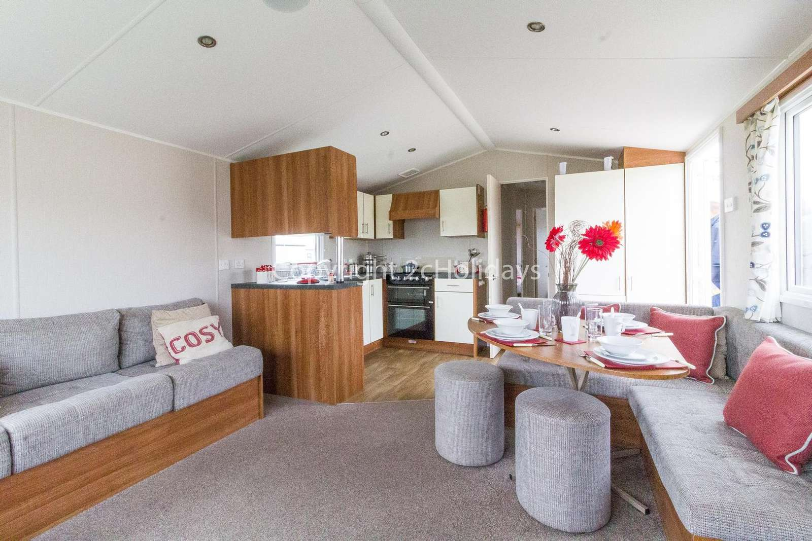 The perfect place to dine with your family or friends in this pet-friendly accommodation