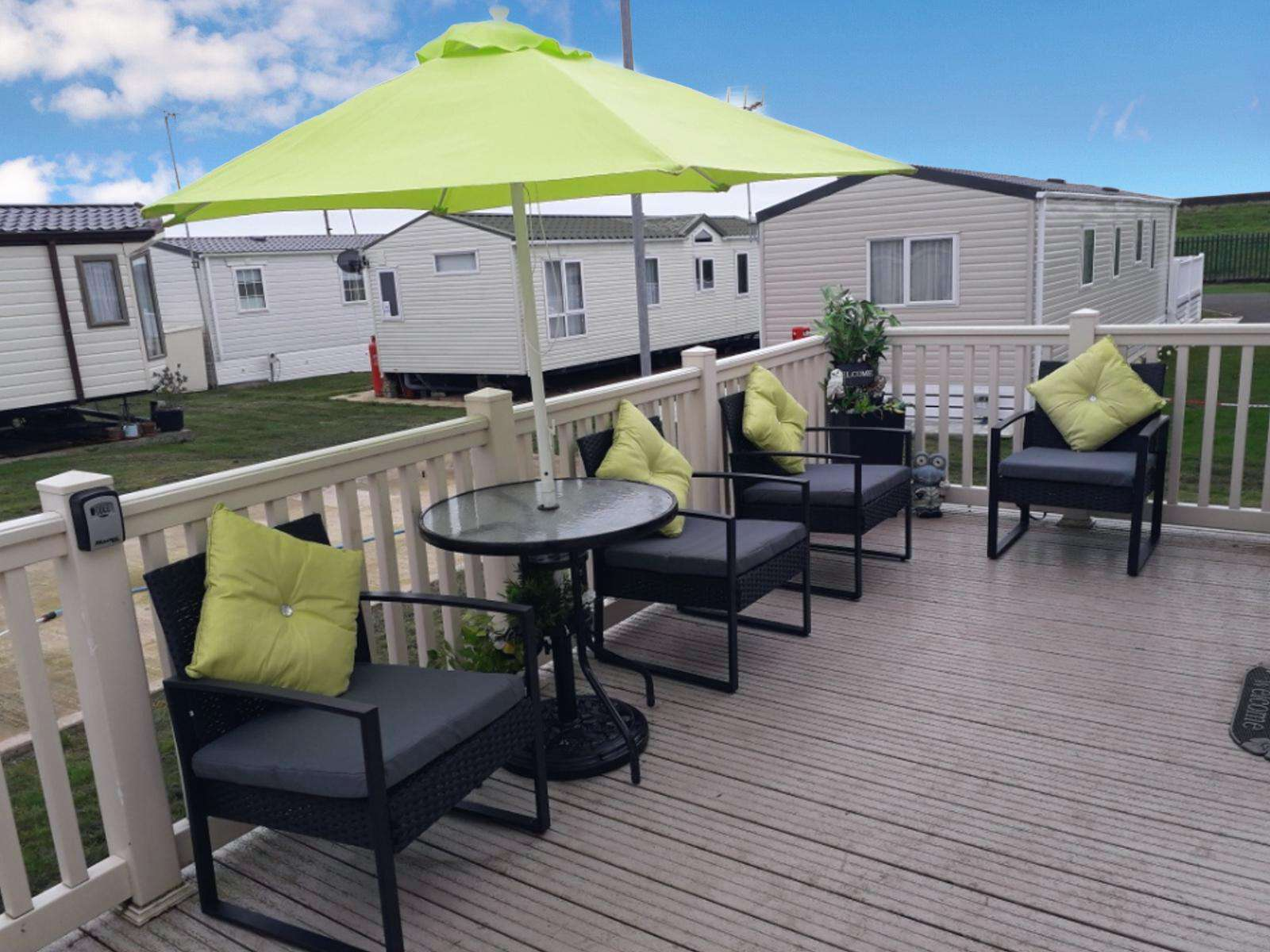 Enjoy the use of outdoor furniture provided for you to relax!