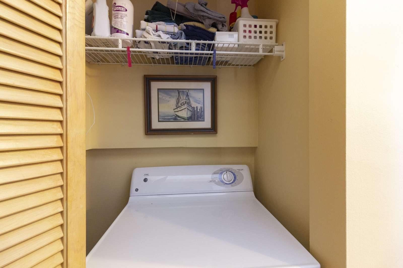 Laundry (washer/dryer)