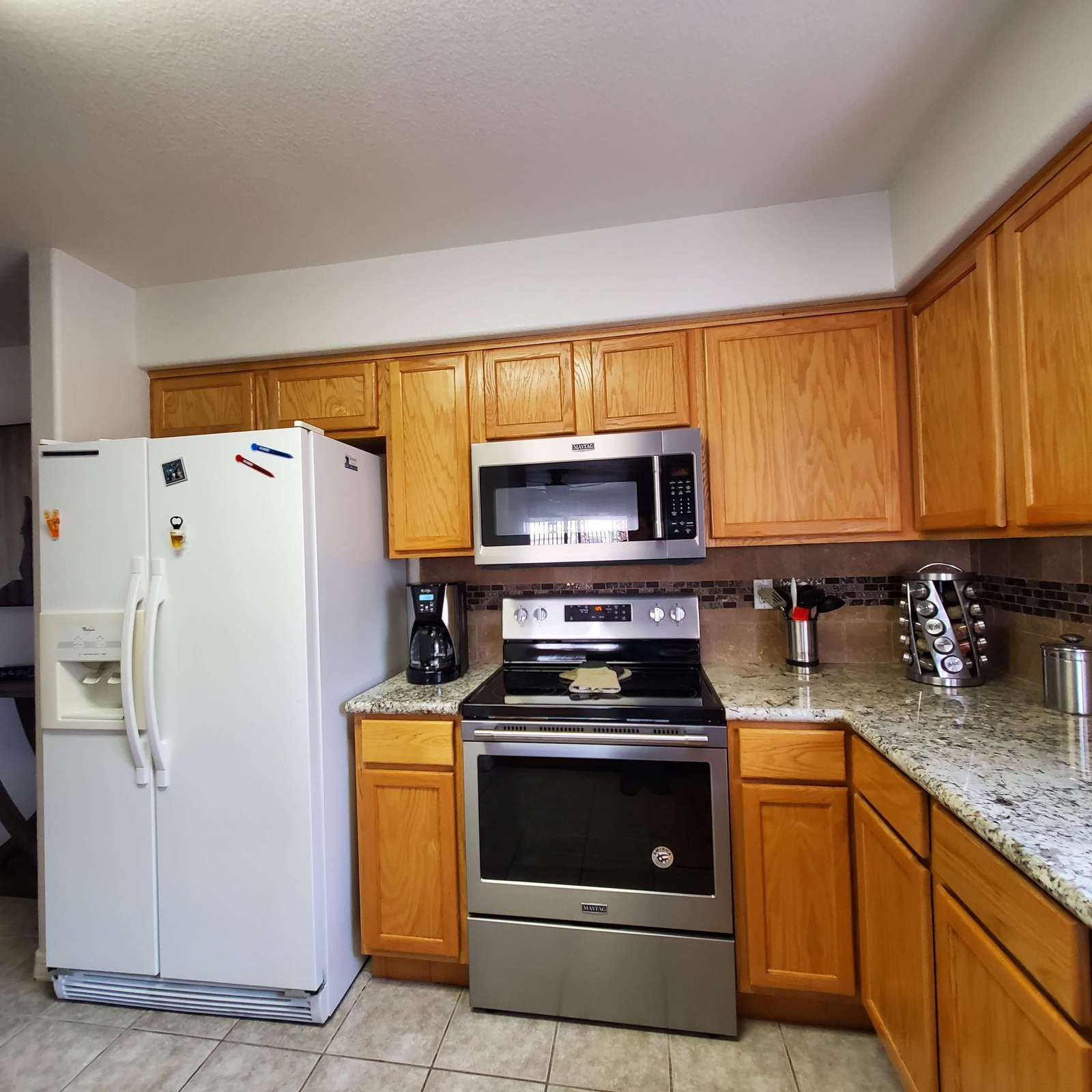 Brand New Stove and Microwave
