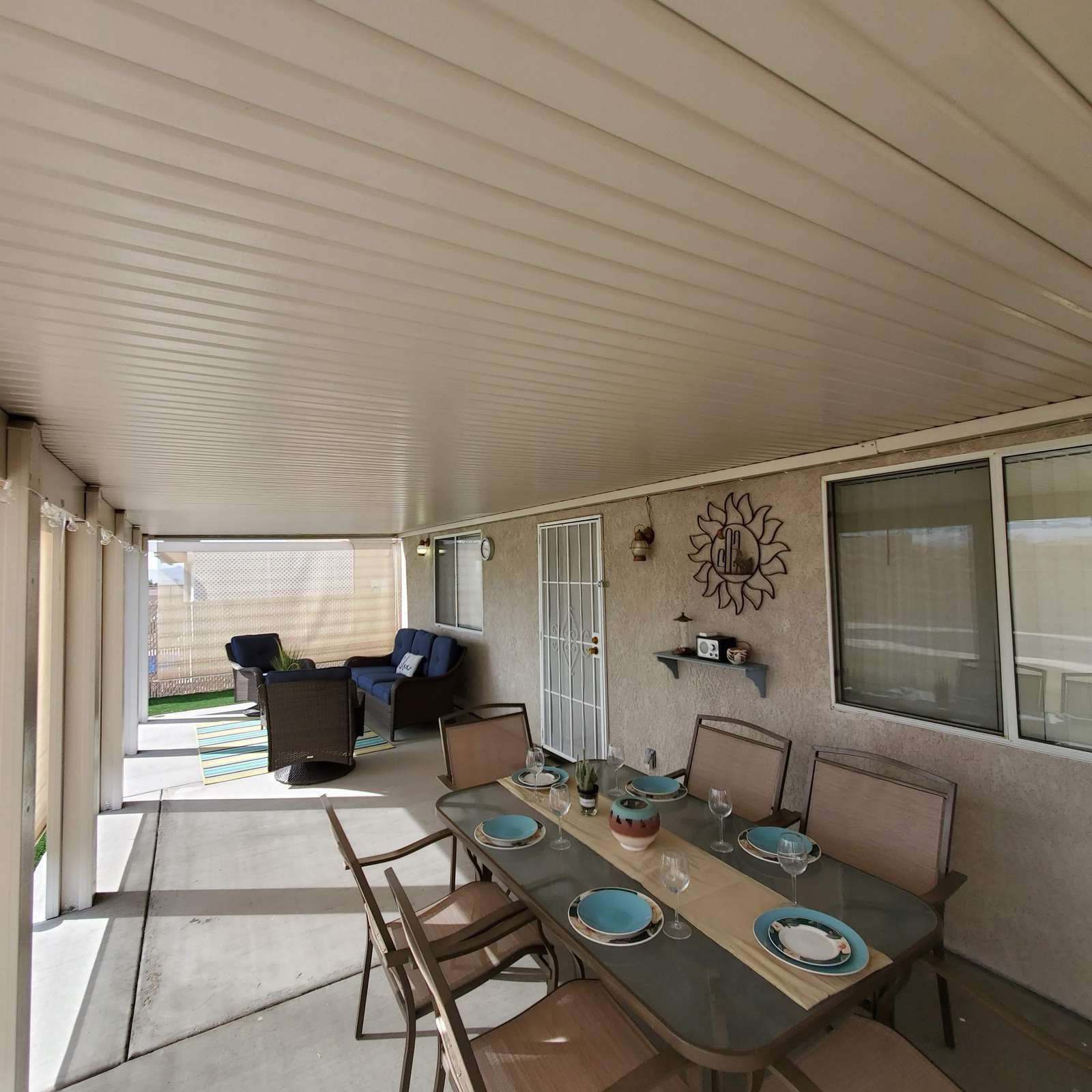 Extended Covered Patios