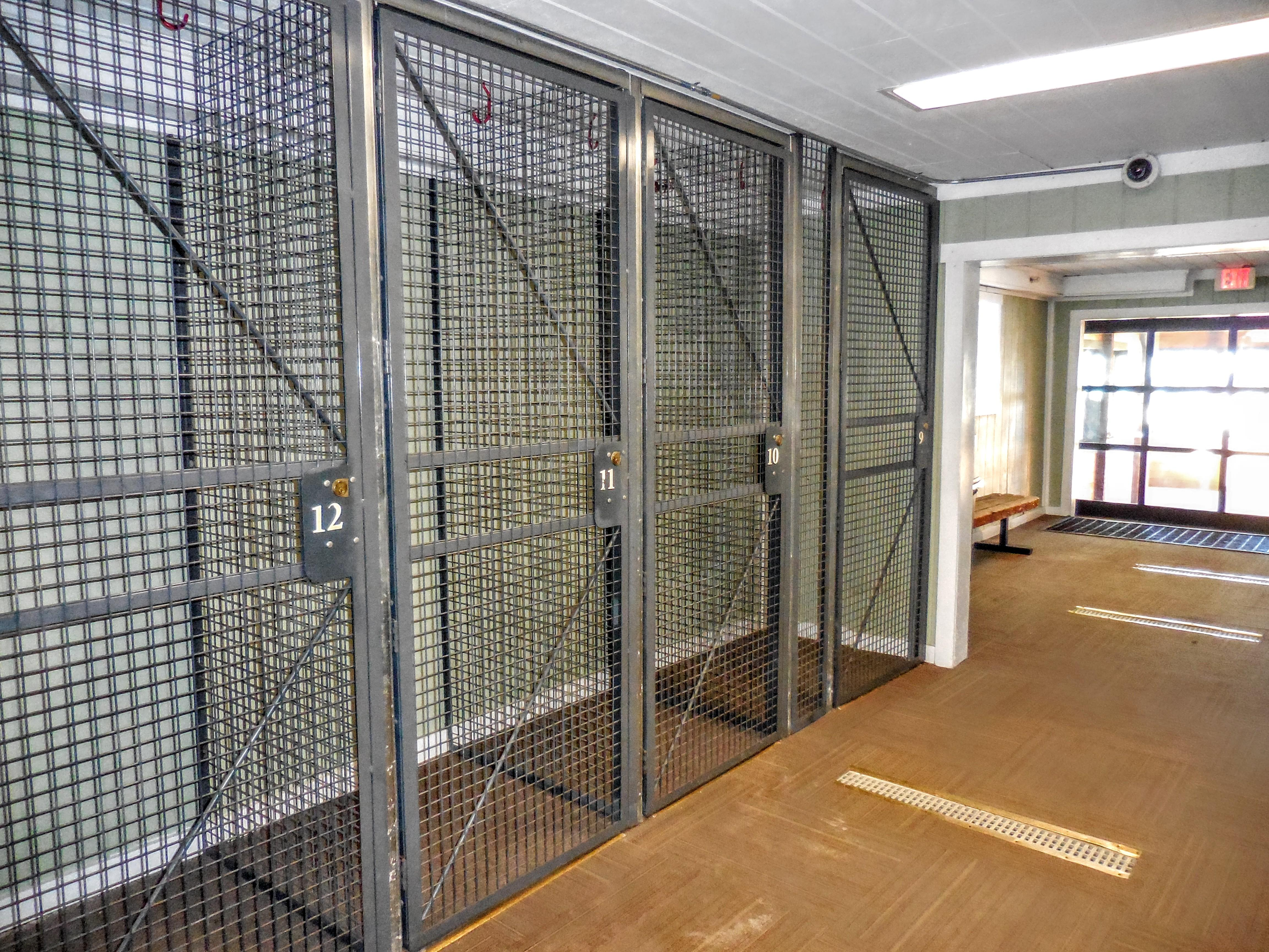 Ski/Bike lockers available for rent on first floor