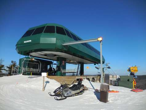 The Ballhooter high-speed chairlift is only steps away from ML328!