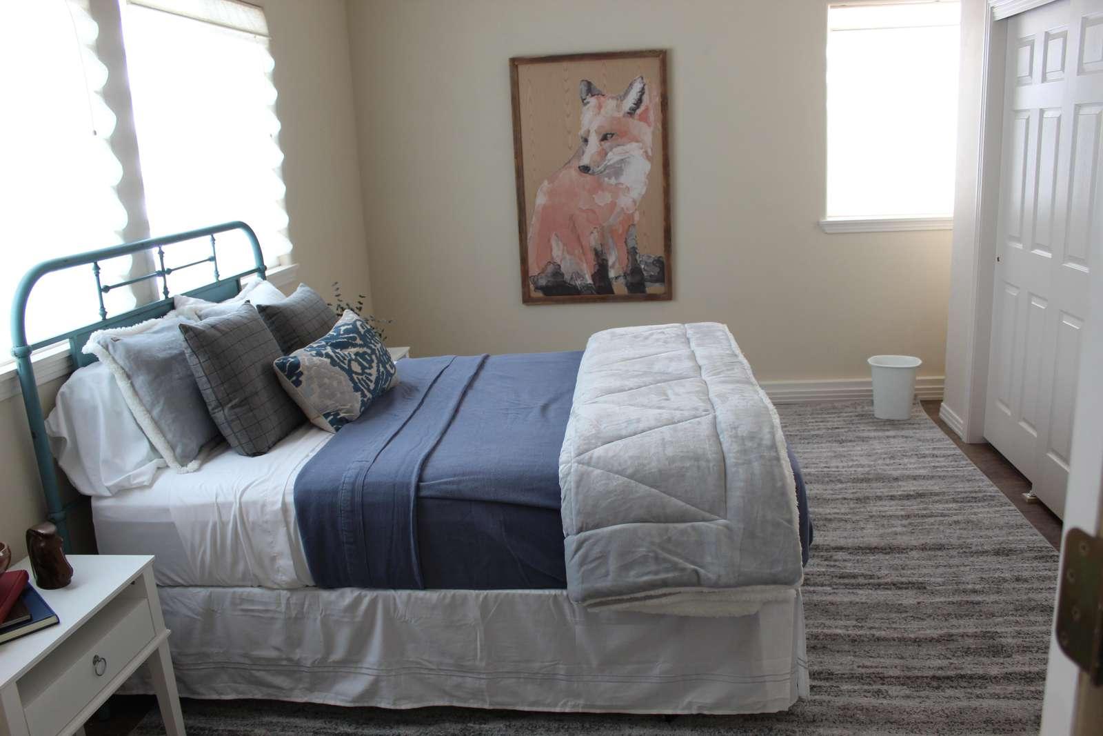 Bedroom off Mud Room