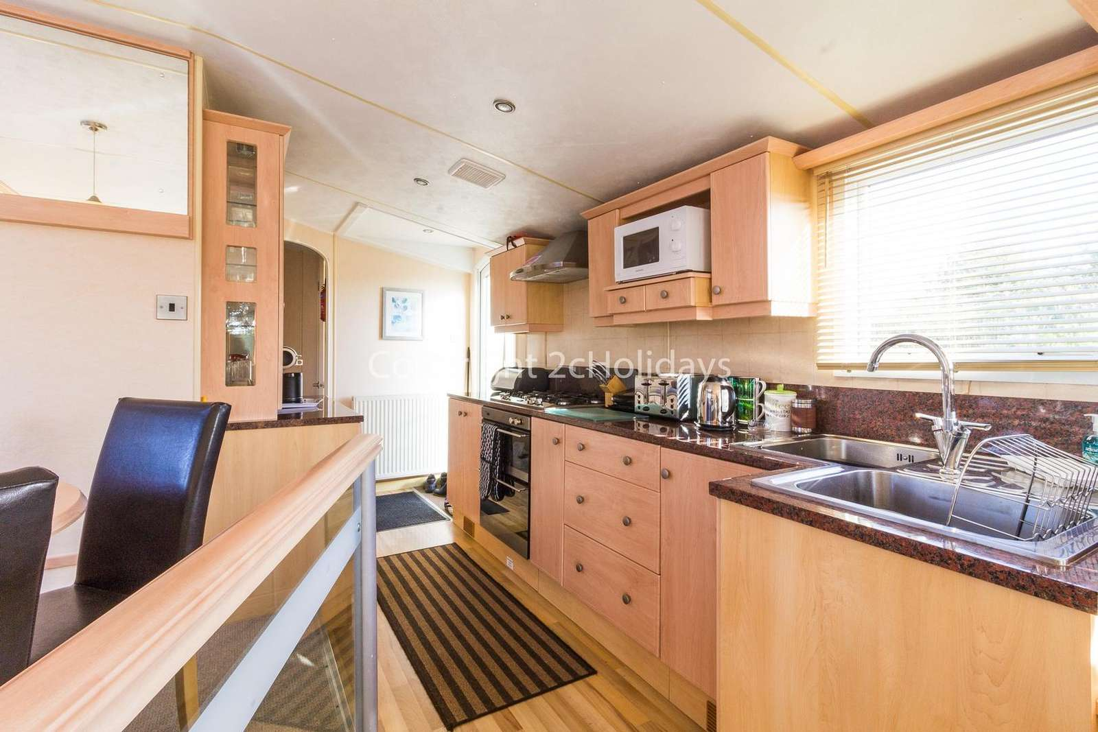 Spacious mobile home, ideal for families!