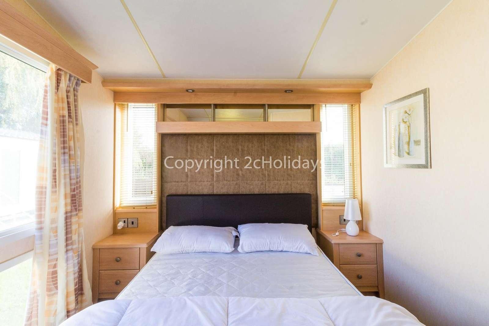 The master bedroom includes an en-suite!
