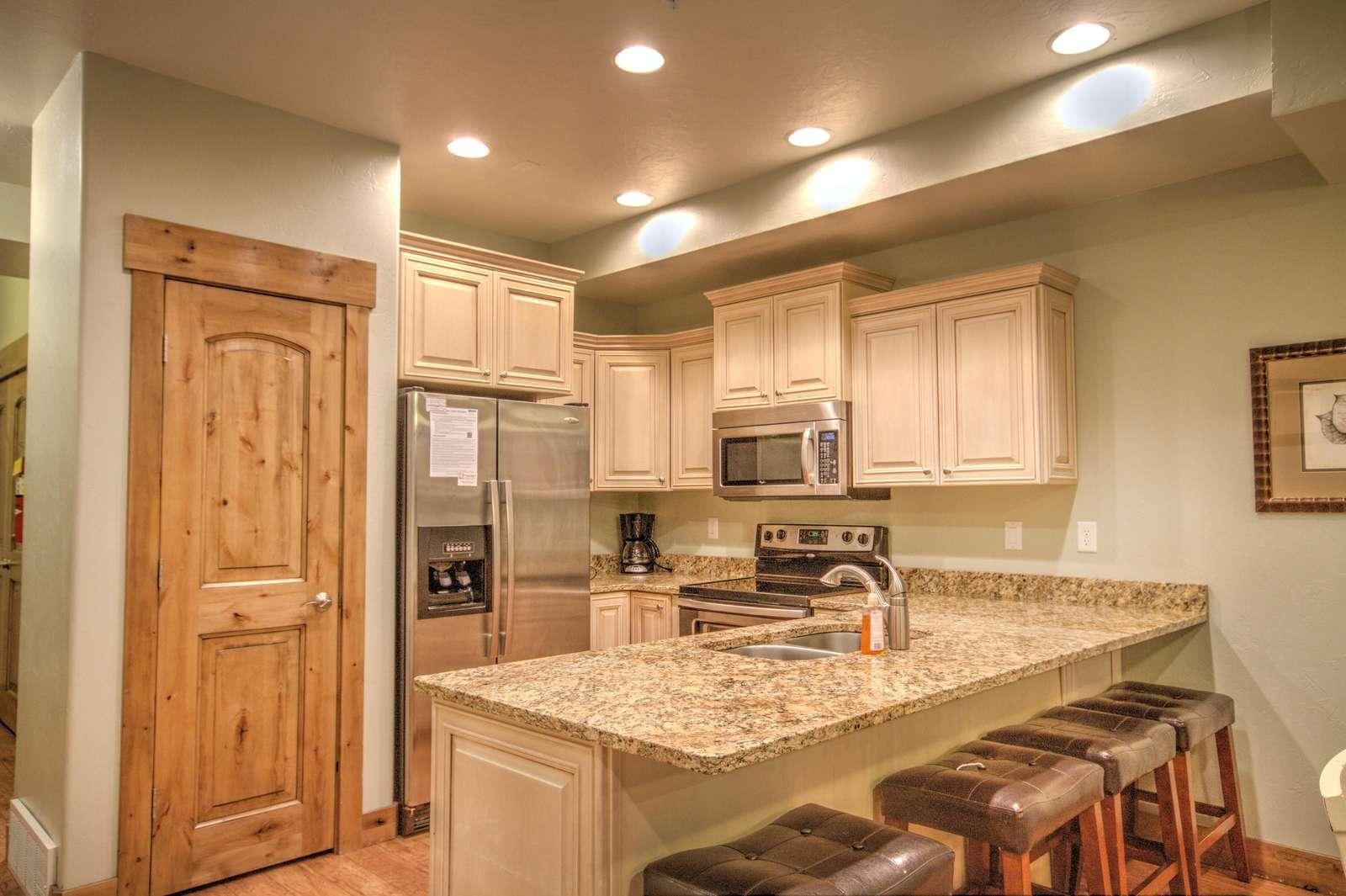 Fully-stocked Kitchen