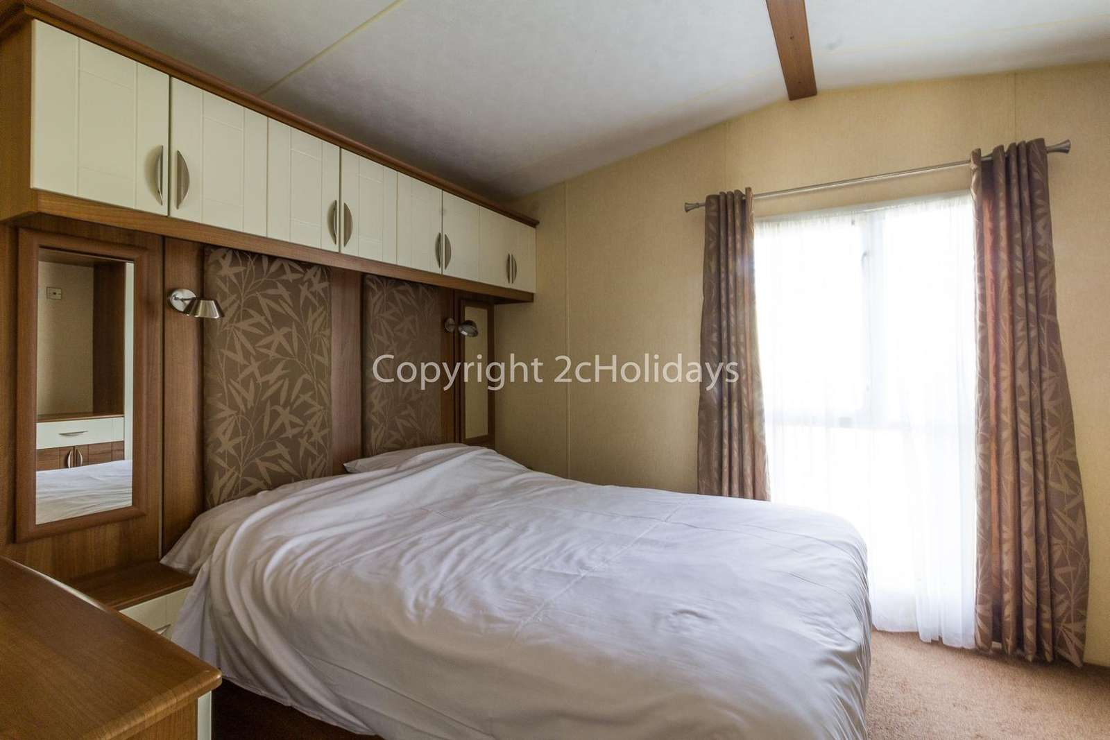 Great size and comfortable master bedroom!