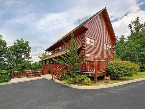 Beau Almost Heaven (2 BR) | Outrageous Cabins | Sevierville TN Vacation Rentals