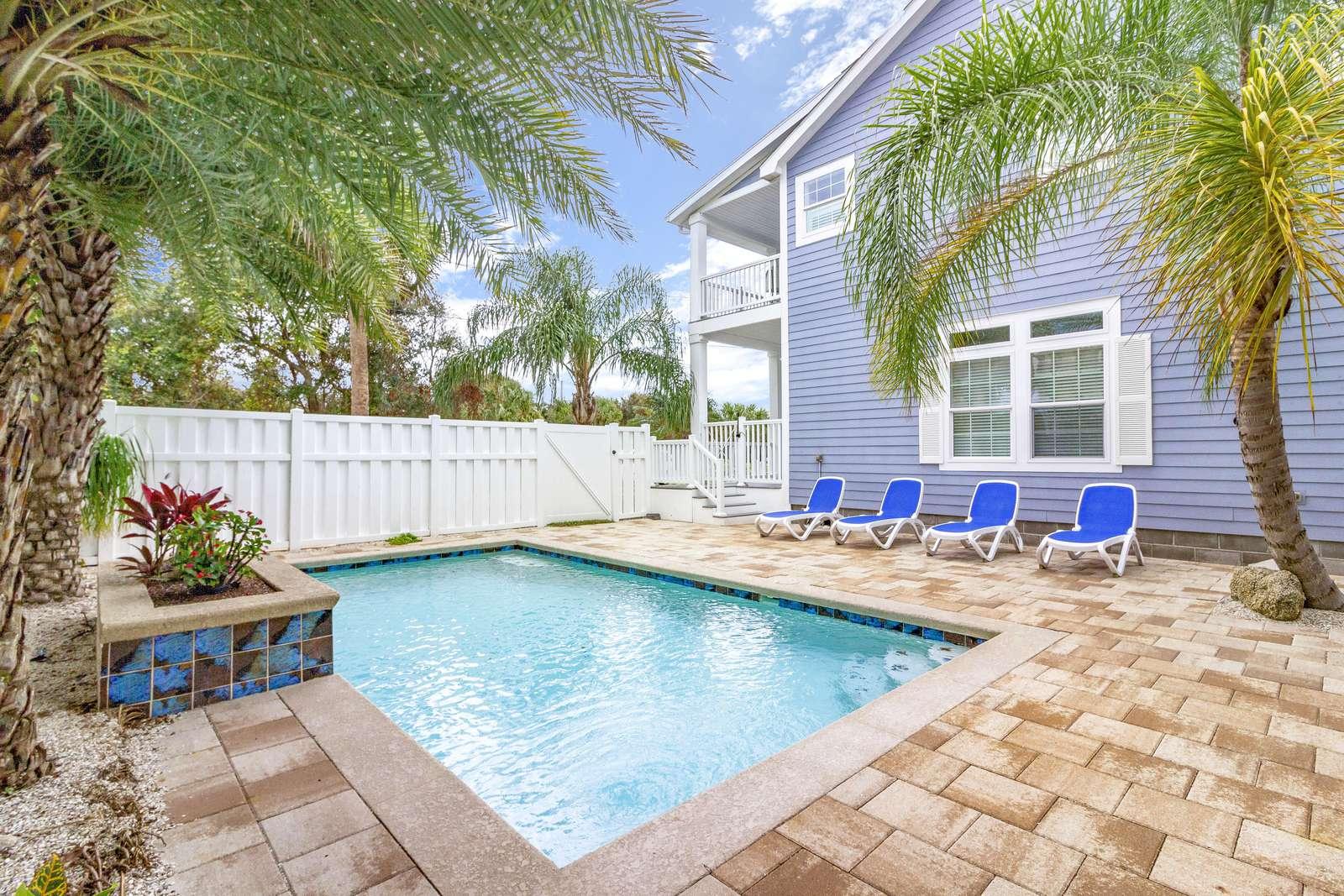 Tropical Enclosed Pool