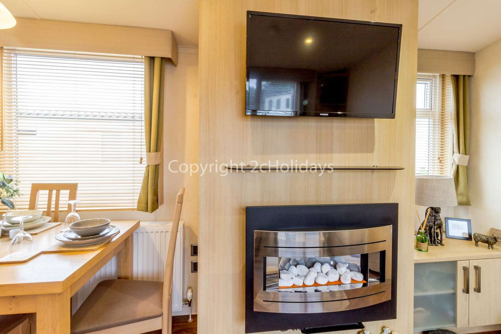Cosy feel with an electric fire!