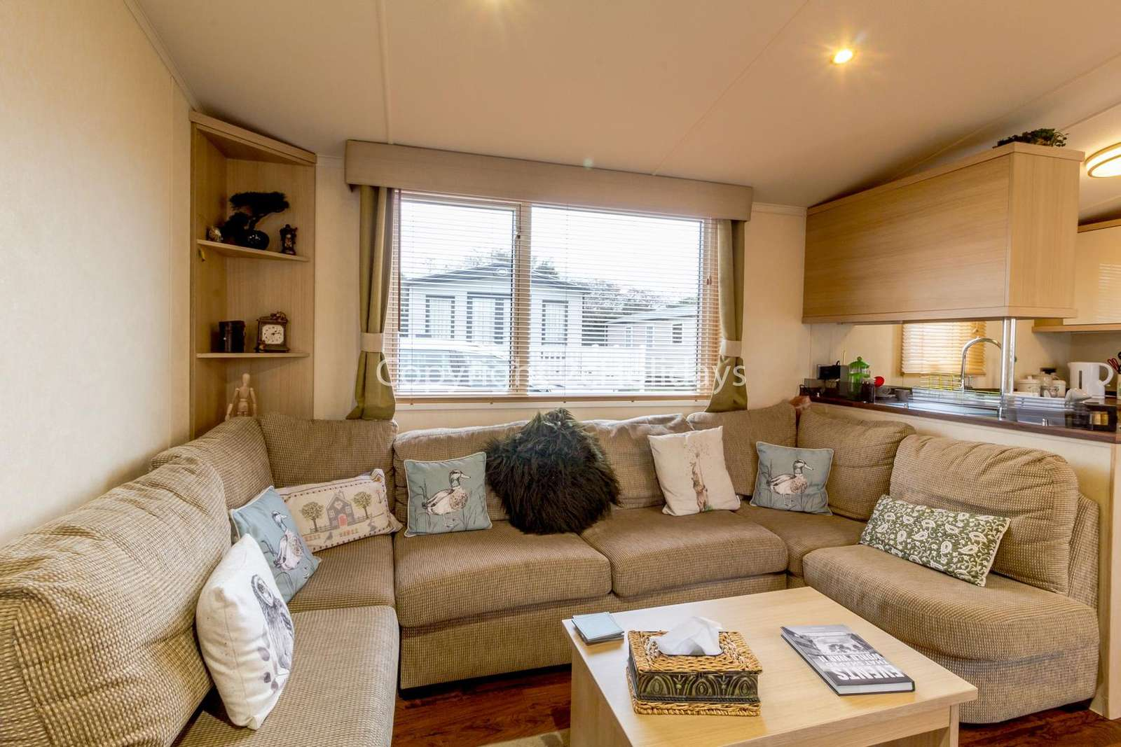 Includes a great double sofa bed!