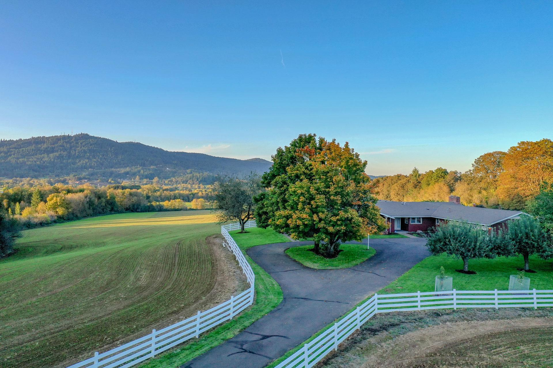 Fall at Highland Acres - Where epic sunrises and sunsets take place!
