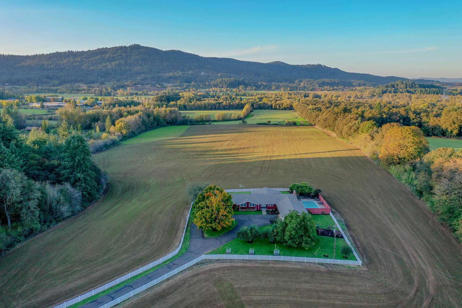 Highland Acres Aerial View