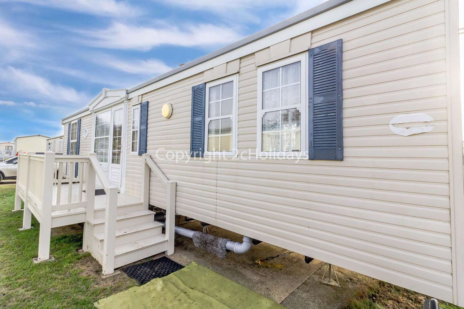 Spacious caravan on a brilliant holiday park near by to Great Yarmouth