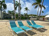 Complimentary lounge chairs for condo guests thumb