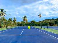 Crystal Cove's 2 tennis courts. thumb