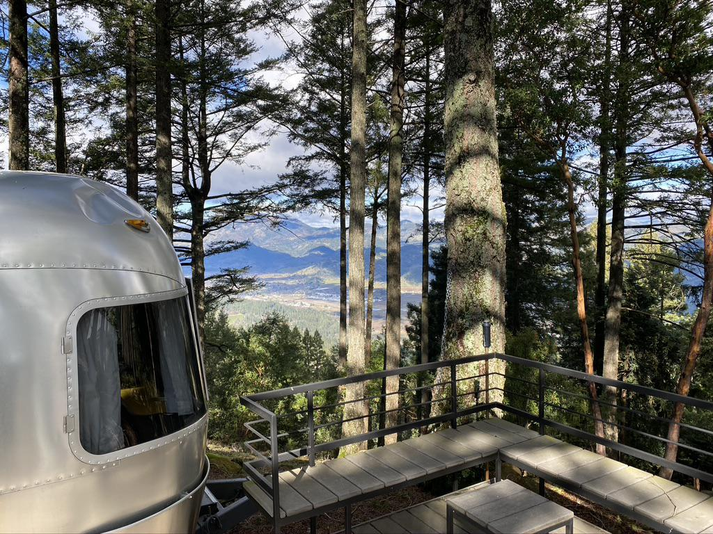 Nice views from the Airstream