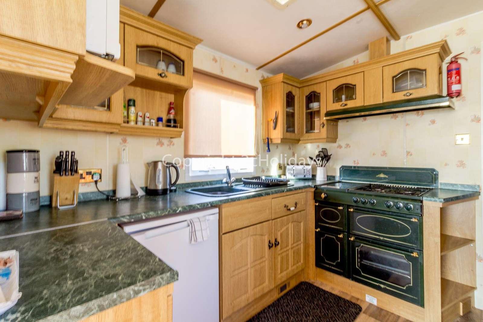 Great kitchen area!