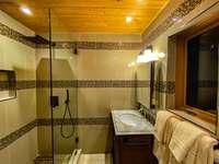Bedroom 2's ensuite bath - sleek and modern! thumb