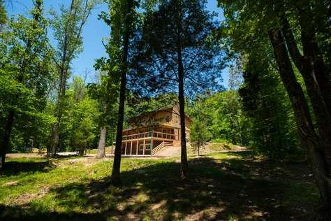 Livin' the Dream Log Cabin