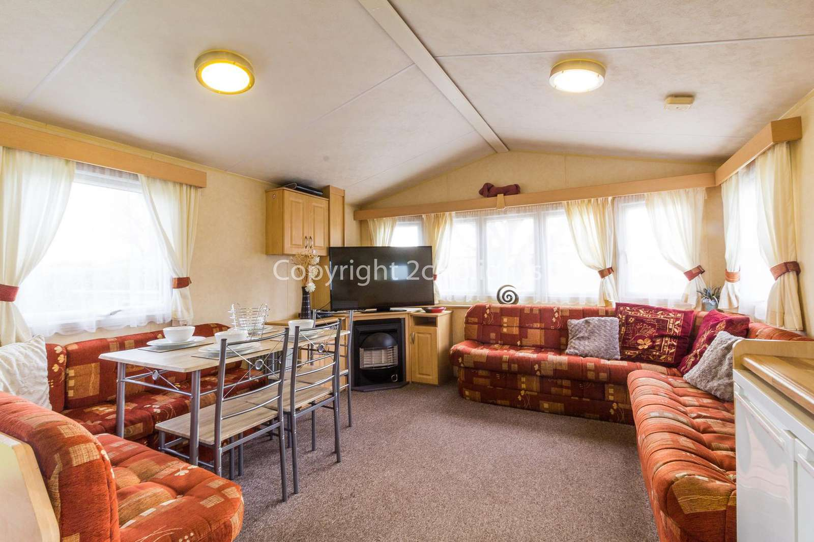 Spacious area for you and your family or friends to relax!
