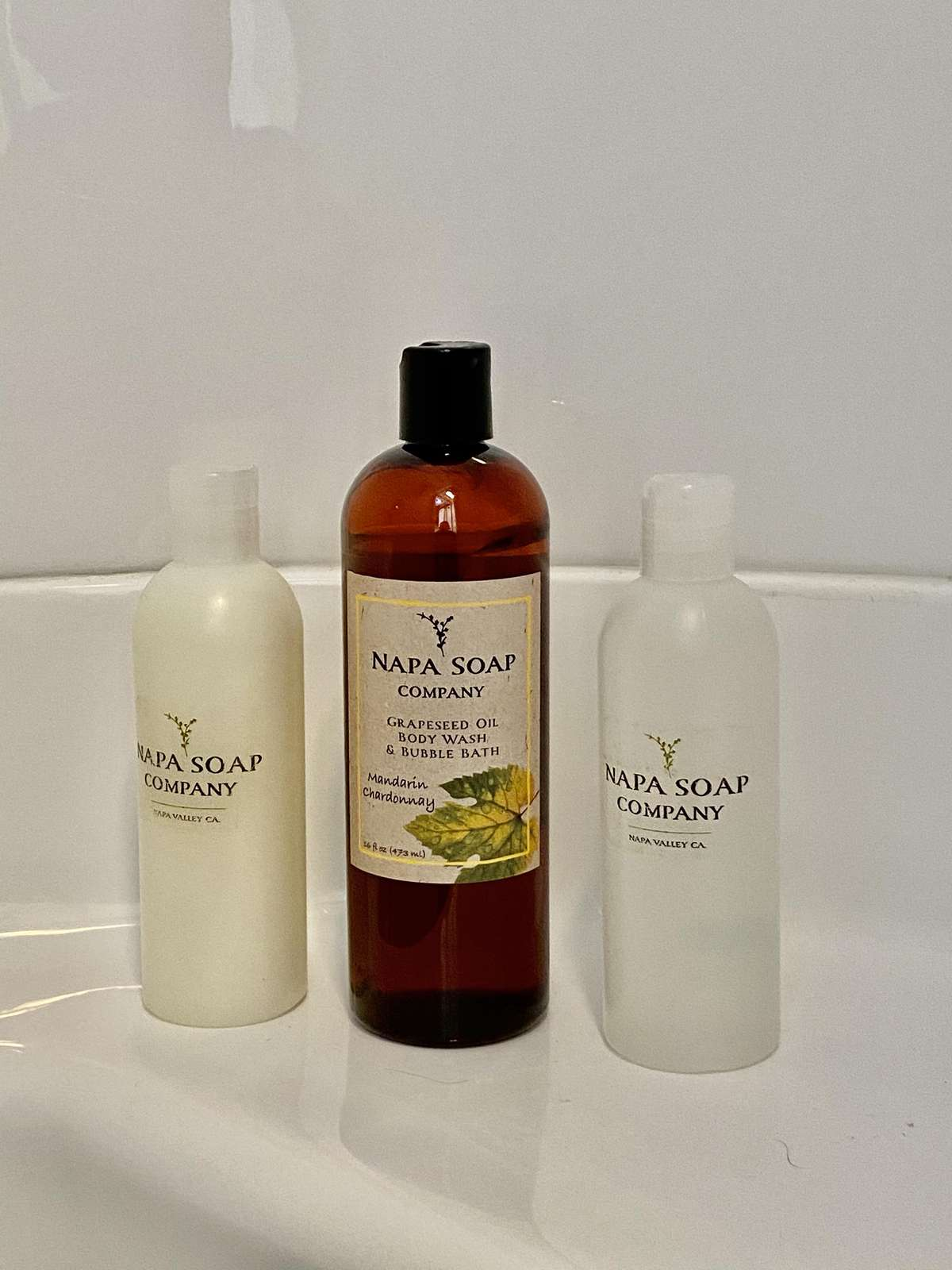 Napa Soap Company Bath Amenties