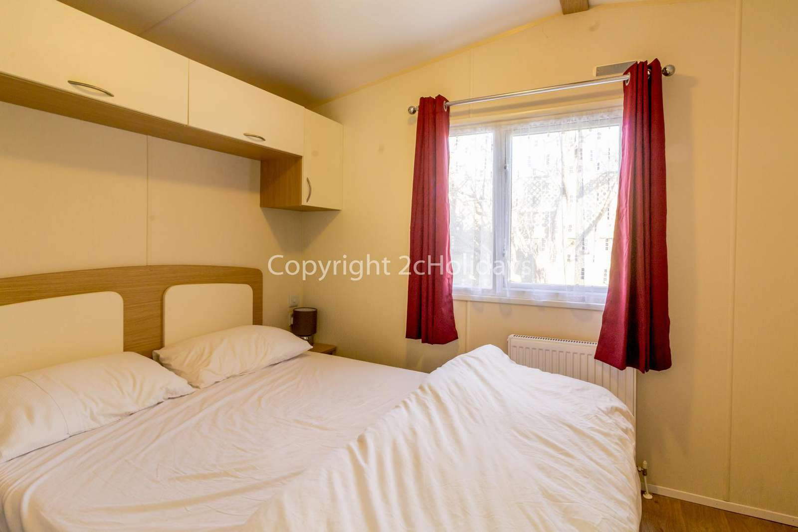 You can find plenty of storage in this master bedroom as well as an en-suite!