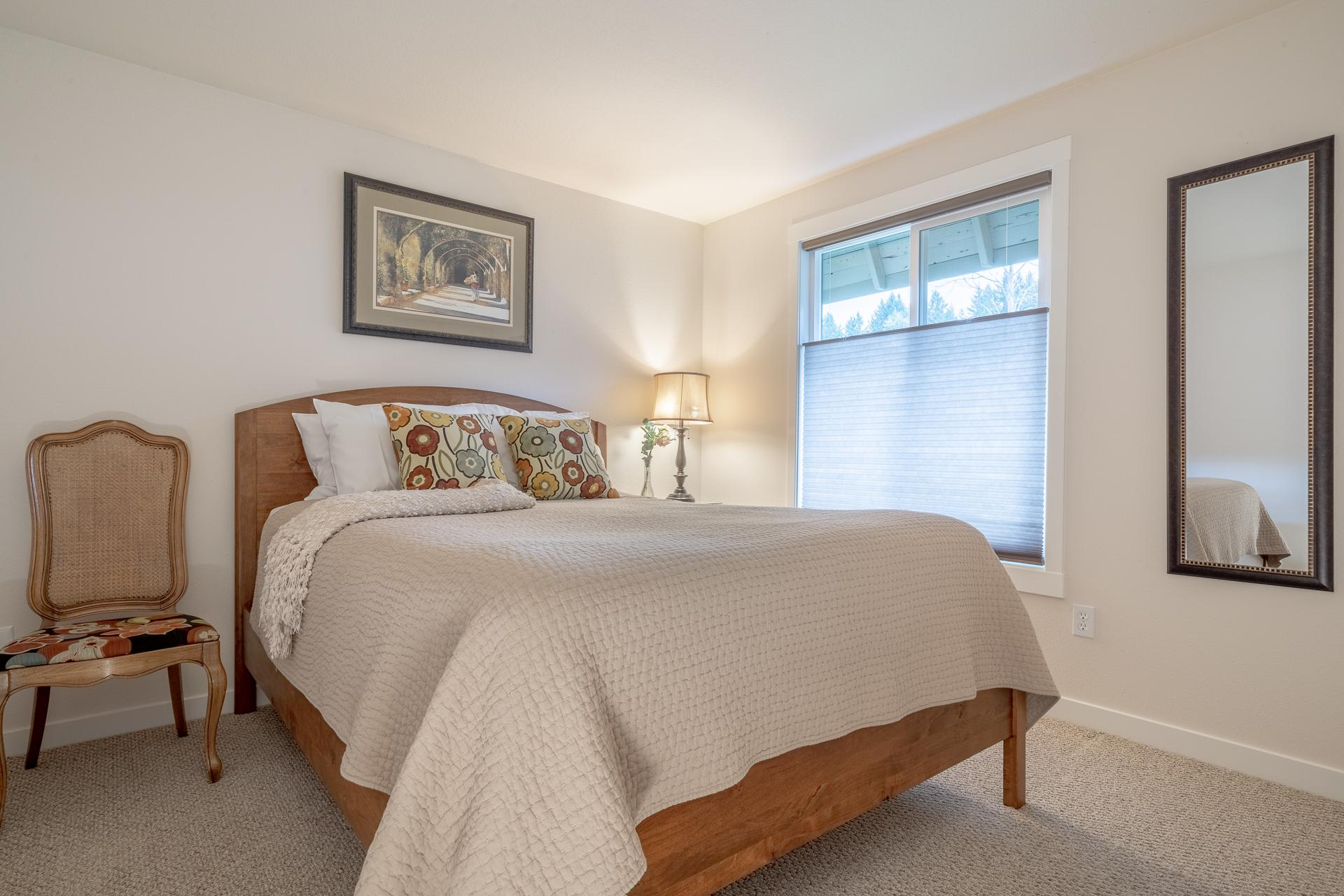 Second Bedroom - High-End Pillow Top Bed - With Top-Down-Bottom-Up Blinds