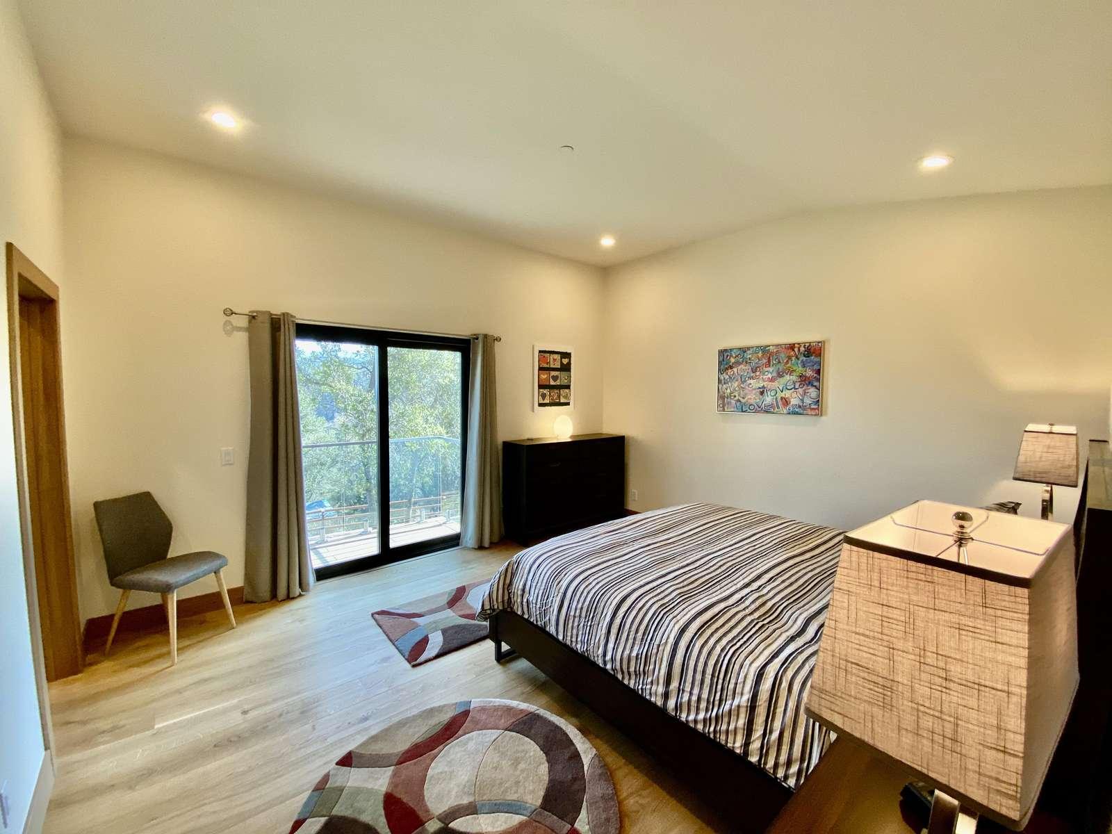 Bedroom 2: Master Suite w/ Ensuite Bath